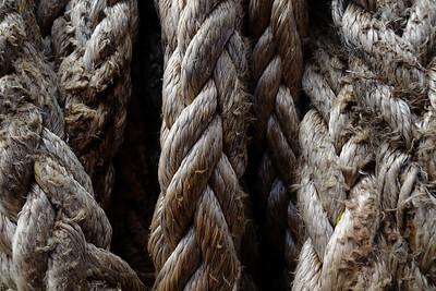 Rope at the Cob, Lyme Regis