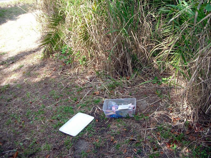Anderson park, flordia multilevel catche  geocache gps