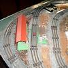 Lionel trains  set up sometime during mid 1950's