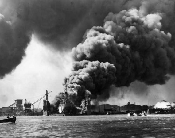 On Sunday, December 7th, 1941 the Japanese launched a surprise attack against the U.S. Forces stationed at Pearl Harbor , Hawaii .