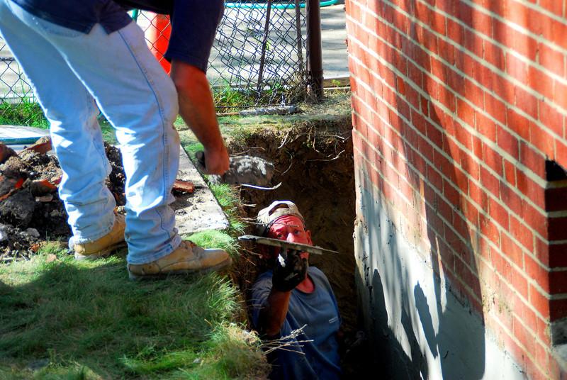 foundation work 8-20-08