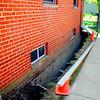 foundation work 8-20-08 north side wall