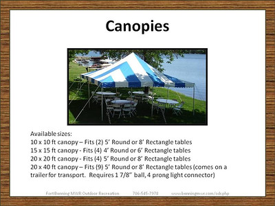 Event and Party Equipment