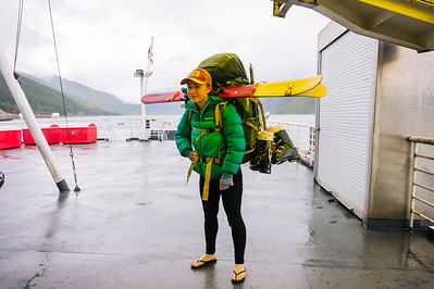 Danika Ingersoll all packed and ready to hit Haines.