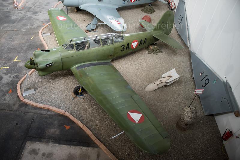 2016-09-01 3A-AA Yakovlev 18 Austrian Air Force