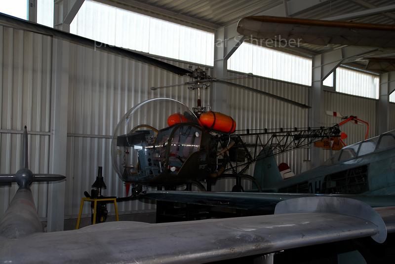 2007-03-13 3B-HA Bell 47 Austrian Air Force