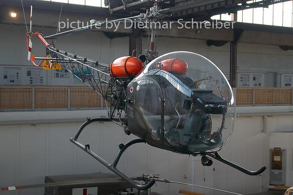 2009-08-123B-HD Bell 47  Austrian Air Force