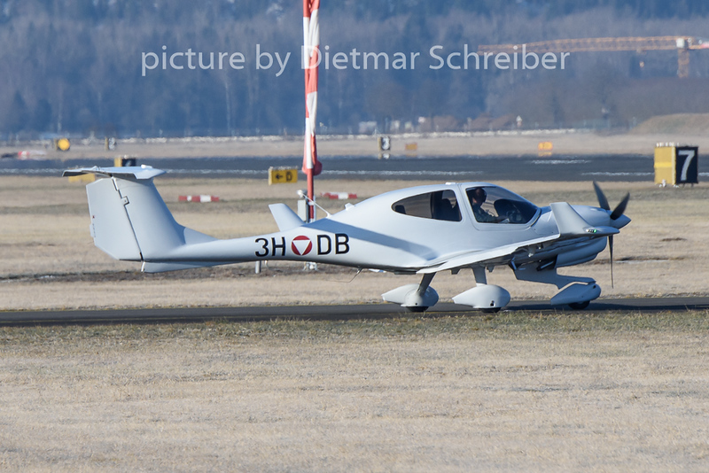 2020-01-21 3H-DB Diamond DA40 Austrian Air Force
