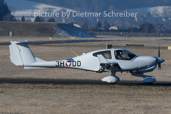 2020-01-21 3H-DD Diamond DA40 Austrian Air Force