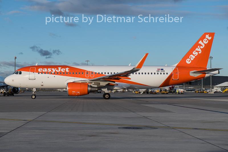 2018-12-10 OE-ICR Airbus A320 Easyjet Europe