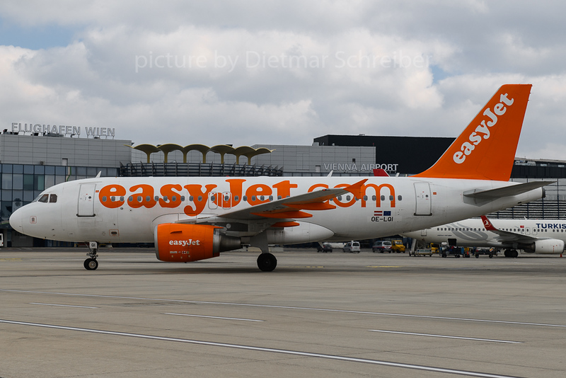 2018-03-25 OE-LQI AIrbus A319 Easyjet Europe