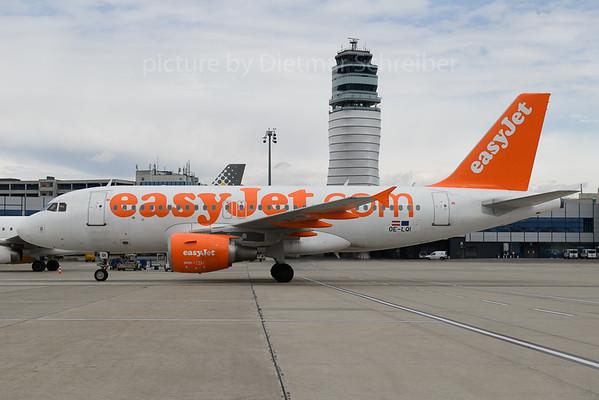 2018-03-29 OE-LQI AIrbus A319 Easyjet Europe