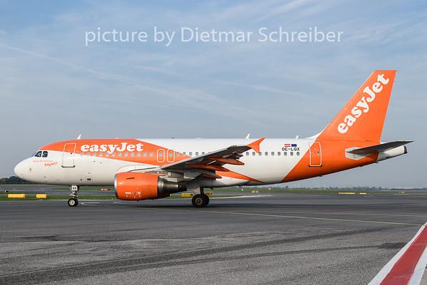2018-09-17 OE-LQX Airbus A319 Easyjet Europe