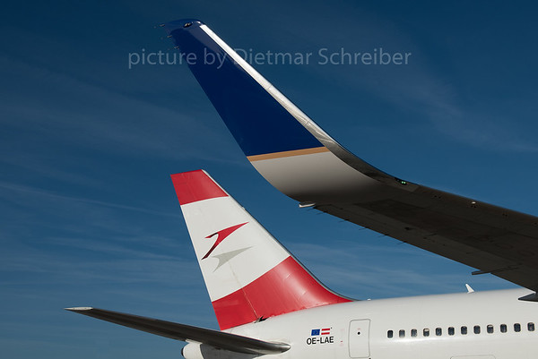 2016-10-31 OE-LAE Boeing 767-300 Austrian Airlines