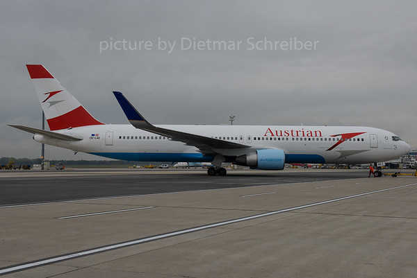 2016-10-21 OE-LAE Boeing 767-300 Austrian Airlines