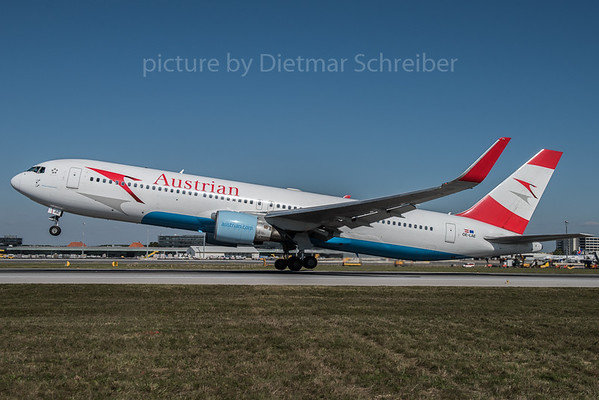 2015-10-01 OE-LAE Boeing 767-300 Austrian AIrlines