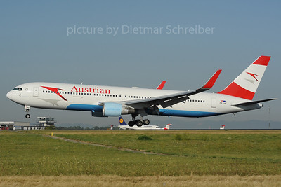 2013-08-16 OE-LAE Boeing 767-300 Austrian Airlines