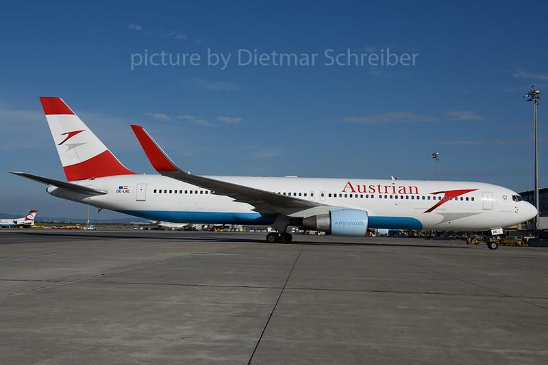 2017-07-21 OE-LAE Boeing 767-300 Austrian Airlines