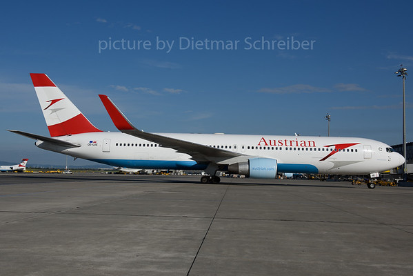 2017-07-21 OE-LAE Boeing 767-300 Austrian Airlines