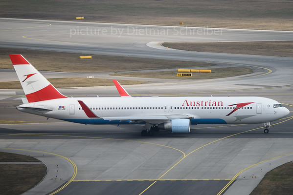 2017-03-12 OE-LAE Boeing 767-300 Austrian Airlines