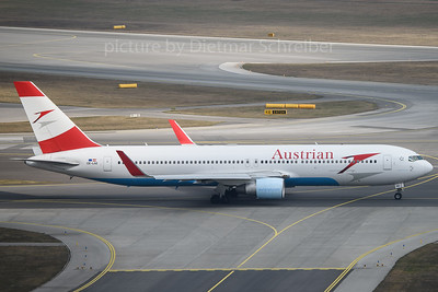 2017-03-12 OE-LAE Boeing 767-300 Austrian Airlines