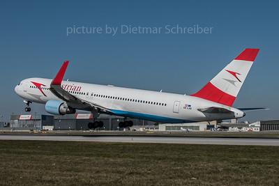 2015-10-01 OE-LAE Boeing 767-300 Austrian AIrlines