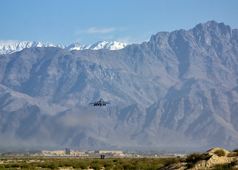 Takeoff from Bagram
