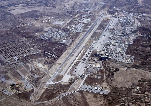 Aerial of Bagram Airbase