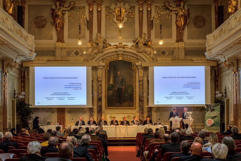 ÖGV Generalversammlung  - in Haus der Industrie, Wien, Österreich am 22. 3. 2014. Photo: Gerald Fischer
