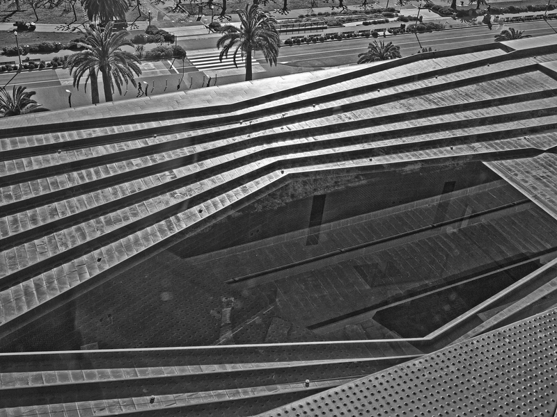 DeYoung Museum Roof (From Observation Tower) -- San Francisco (January 2011)