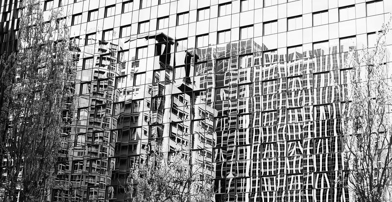 Glass Facade -- Seattle (April 2010)