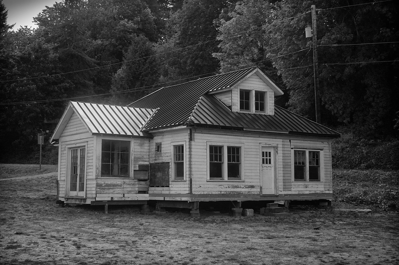 Abandoned House, Lakebay Marina, Washington (July 2015)