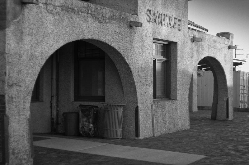 Railroad Stattion -- Santa Fe, New Mexico (March 2014)