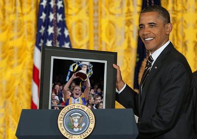 Barack applauds Wicklow Ladies