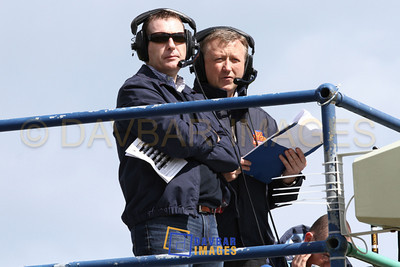Michael Neary (East Coast FM & Wicklow People) with Michael Sargent (East Coast FM)