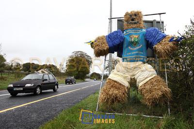 Roadside mascot...