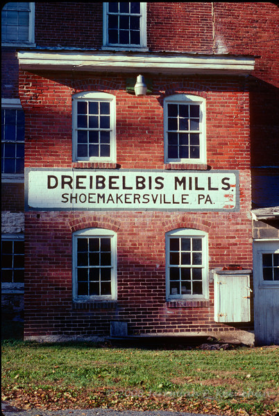 An Old Mill in an Old Town in Berks County Pa  2009