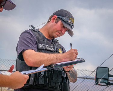 SBCoFD Fire Investigator Tim Tate.