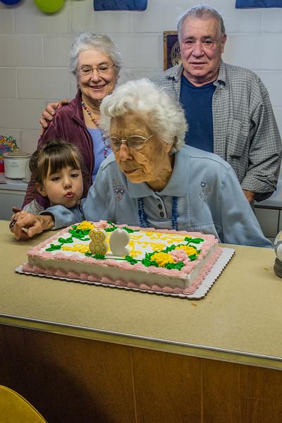 Aunt Elda's 98th Birthday