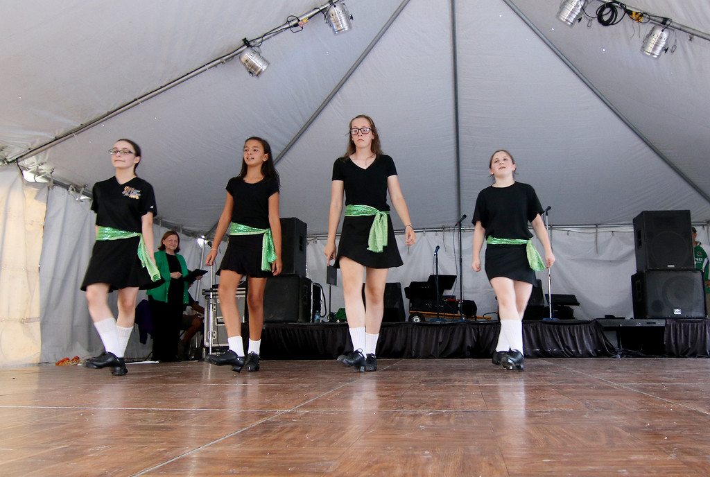 . Jonathan Tressler - The News-Herald. Dancers from Beachwood-based Murphy Irish Arts Center perform traditional Celtic dance Aug. 11 as the 2017 Ohio Celtic Festival got underway.