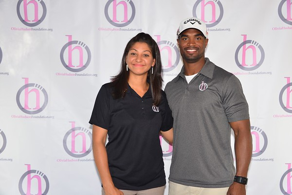 1ST ANNUAL OLIVIA HUDSON FOUNDATION GOLF CLASSIC AND BANQUET: Step and Repeats