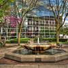 Town Square Fountain in Lima Ohio