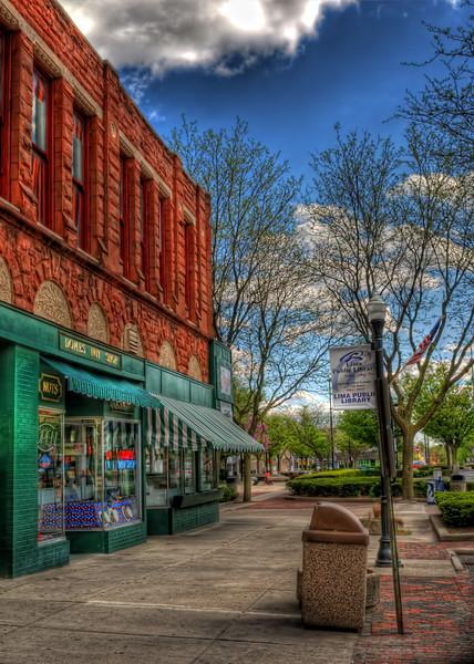 Town Square Sidewalk