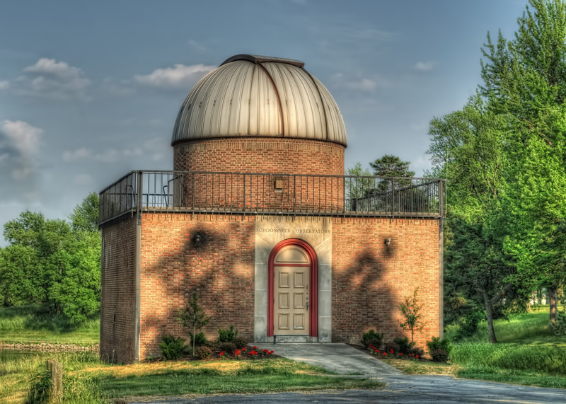 Schoonover Observatory located in Lima, Ohio