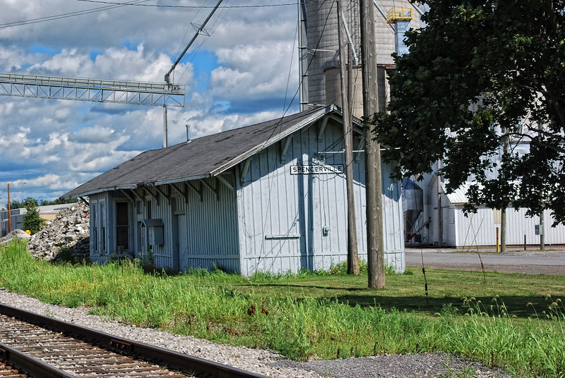 Train Station in Spencerville Ohio