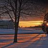 January Sunset in Ohio