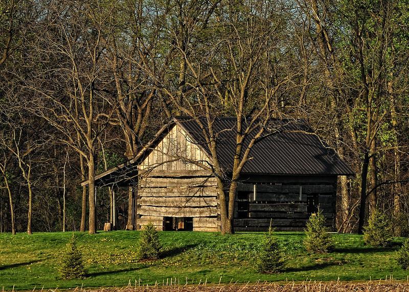 Log Cabin circa 1824