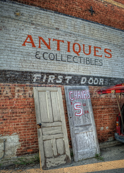 "YesterYear Antique Mall or "" First Door Antiques """