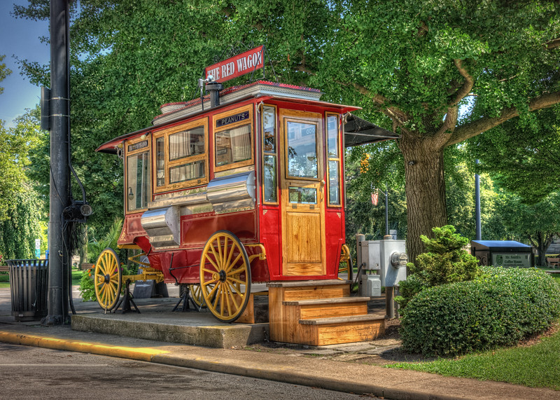 The Red Wagon of Sandusky