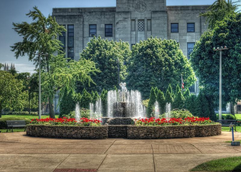The Boot Boy Fountain